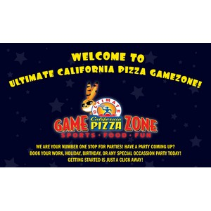 Ultimate California Pizza – Game Zone